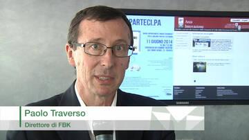 Paolo Traverso, direttore del Centro Information Tecnology di FBK, anticipa che nuove applicazioni tecnologiche confluiranno nella piattaforma ComunWEB e ... - Paolo-Traverso-insieme-per-progredire-innovare-e-riutilizzare_large